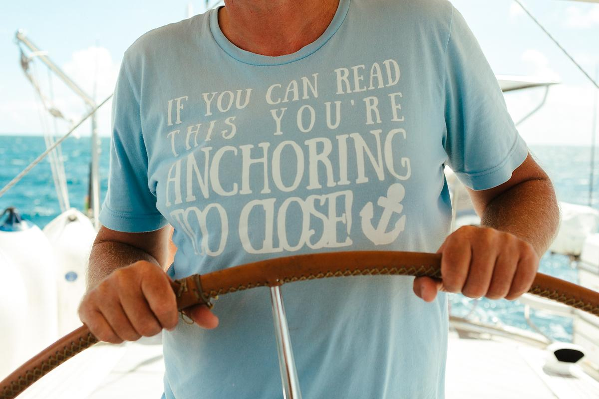 If you can read this you are anchoring too close