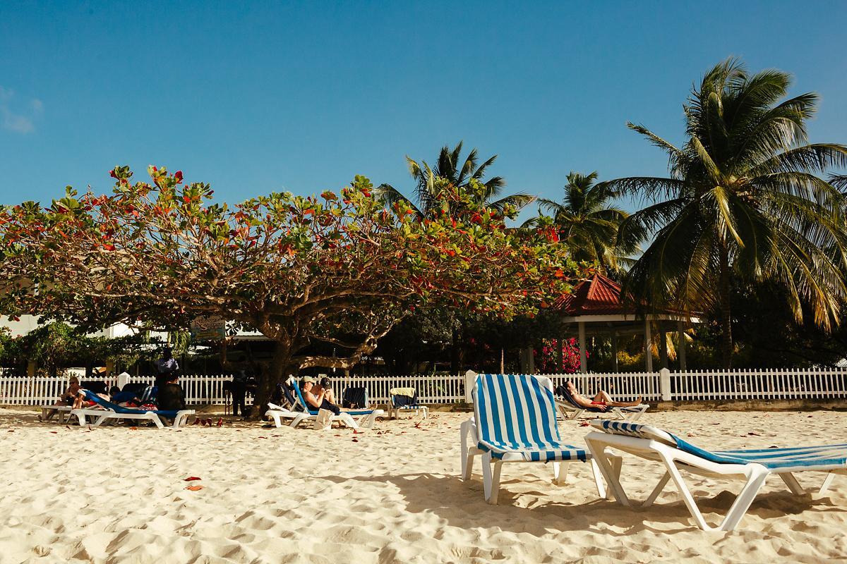 St Georges beach in Grenada