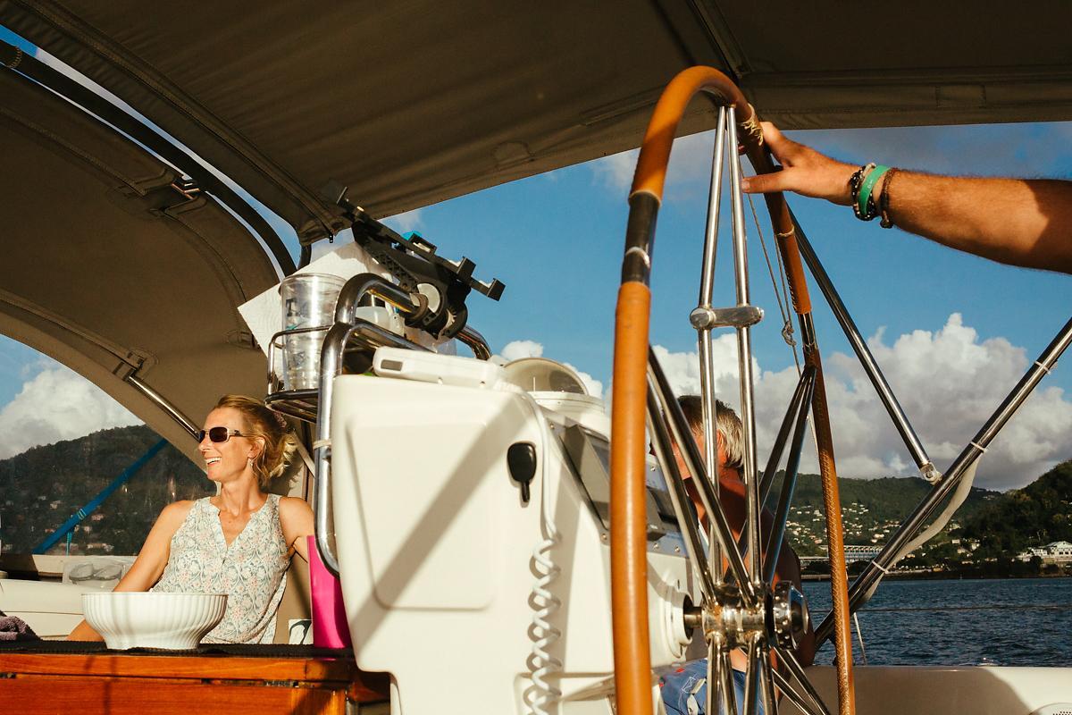 Sailing Grenada in the Caribbean