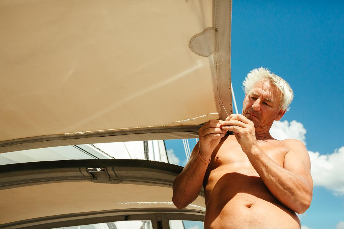 How to fix your sailing boat