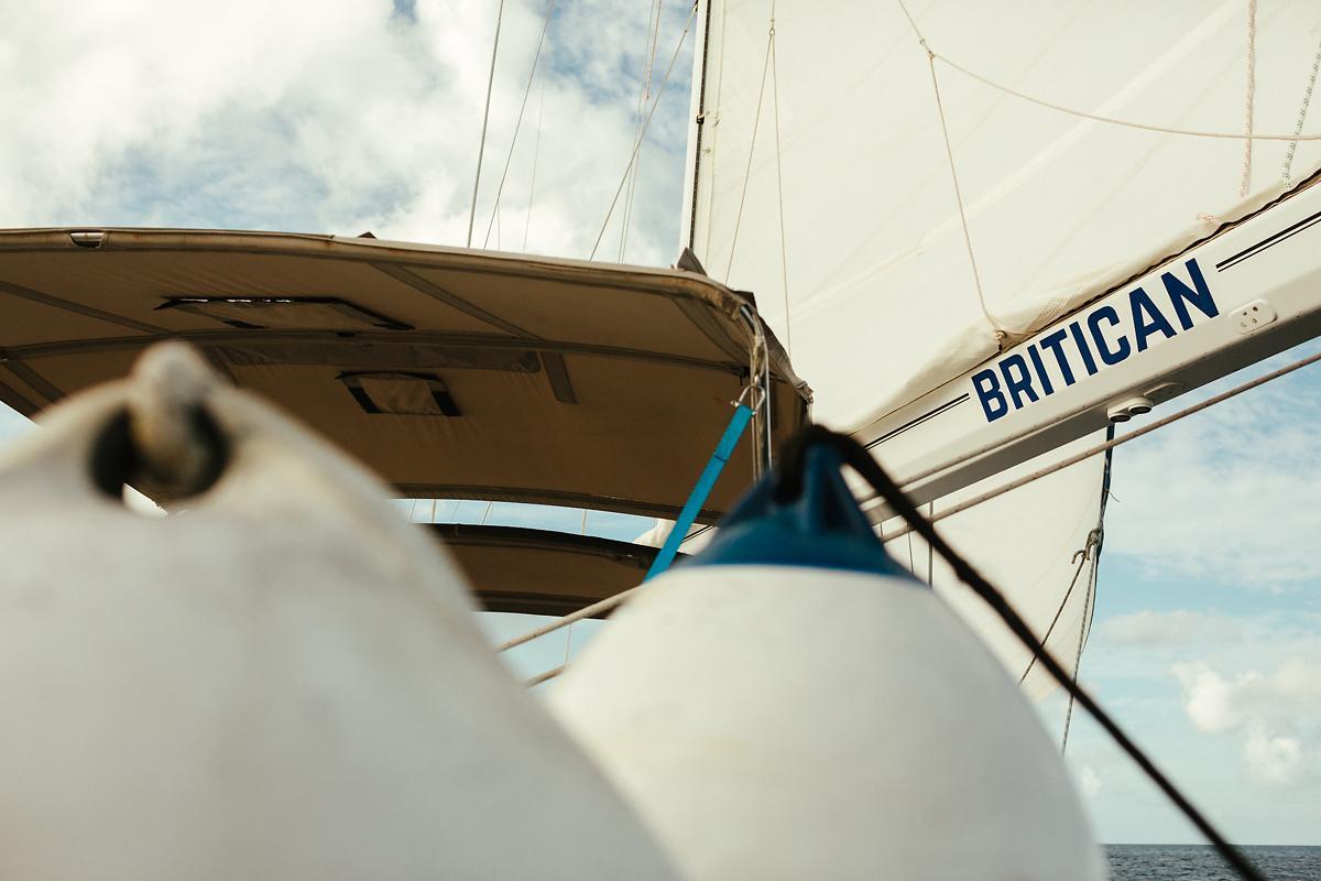 Sailing boat Britican