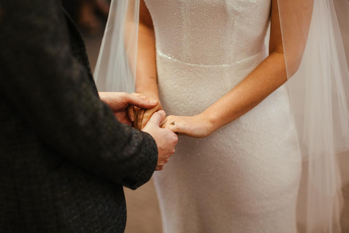 Exchanging rings during your wedding ceremony
