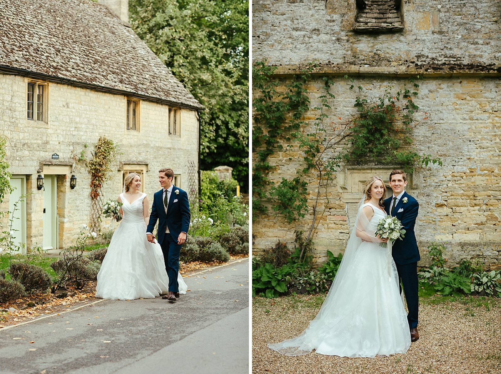 Relaxed wedding photography at Slaughters Manor House
