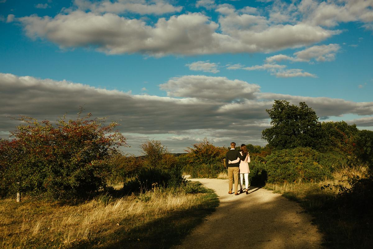 Coombe Hill pre-wedding photographer