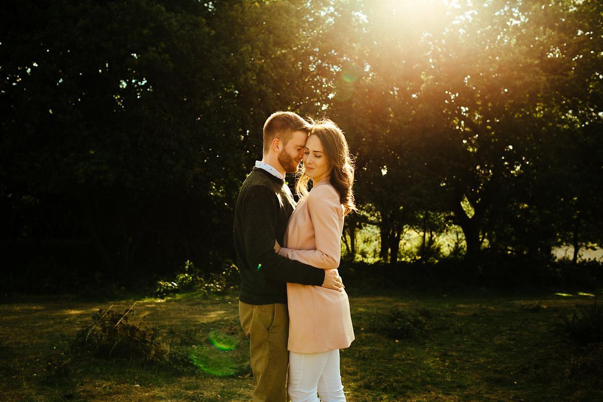 Romantic pre-wedding photography