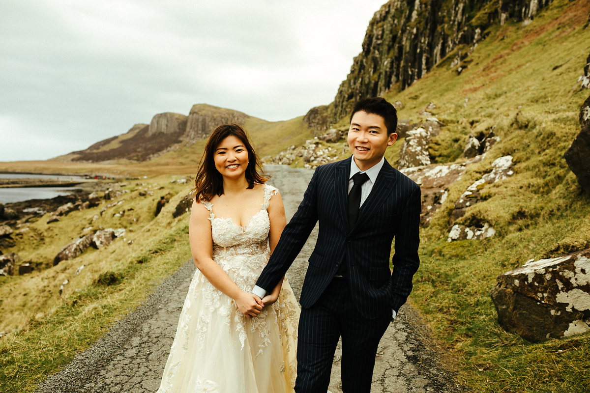 Best Quiraing pre wedding photography