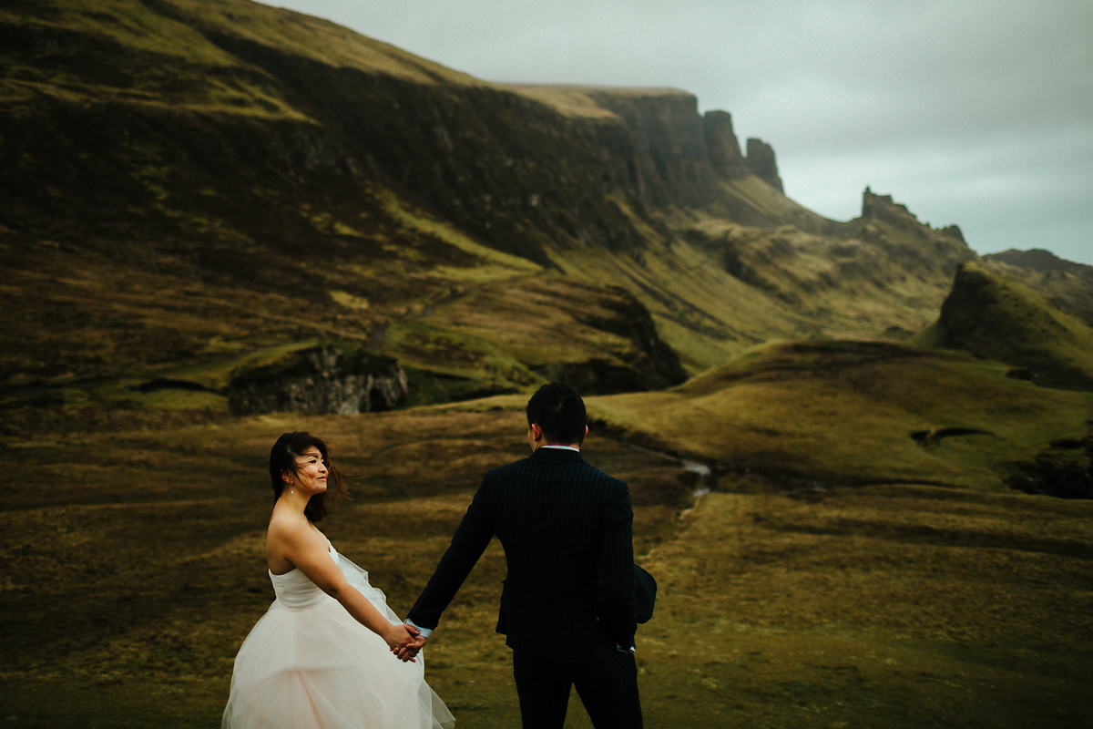 Quiraing pre wedding photography