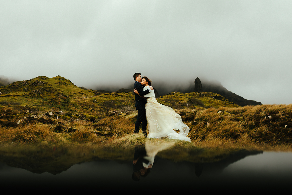 The Old Man of Storr pre wedding photographer