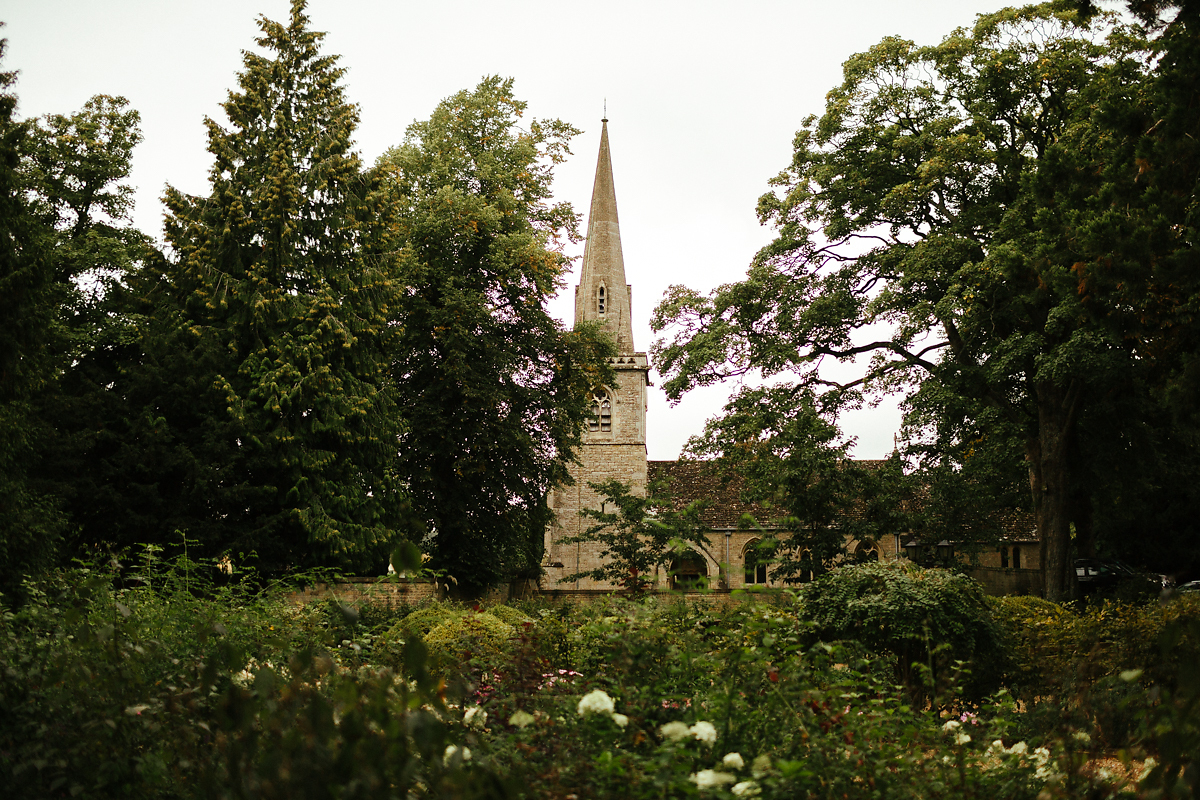 Slaughters village church