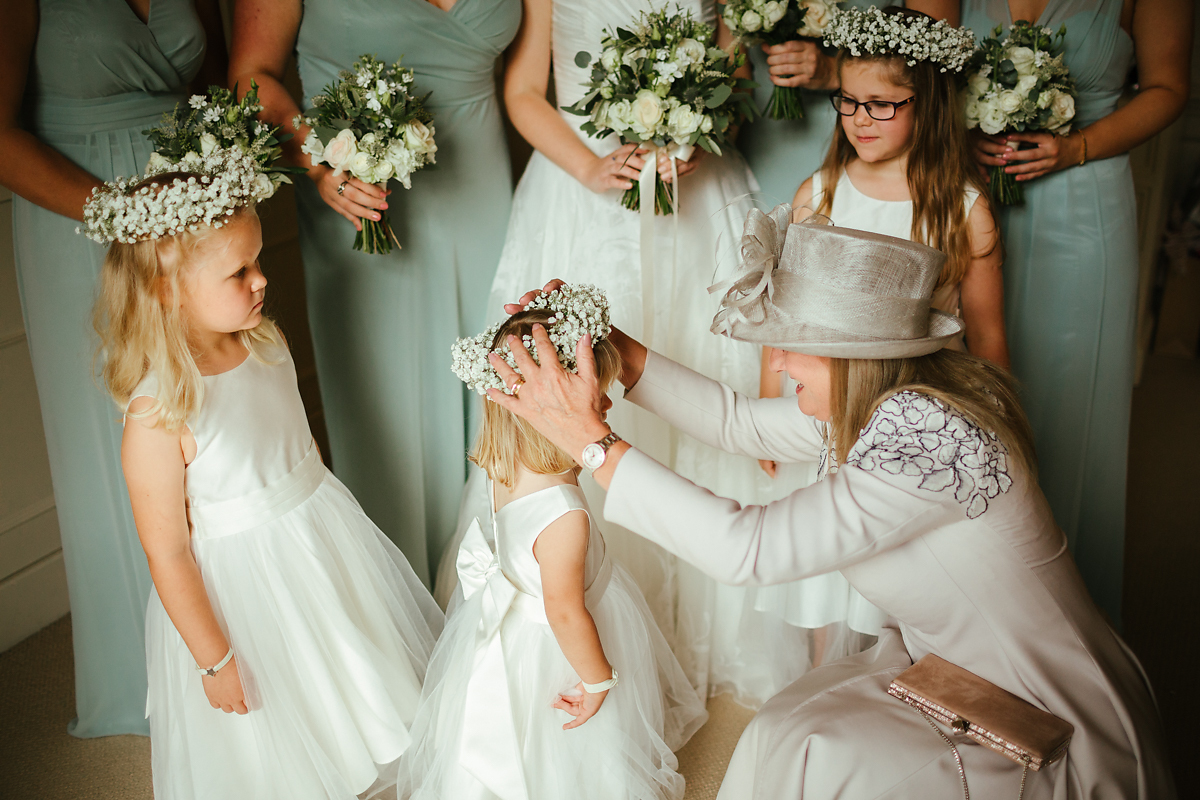 Beautiful flowergirl gowns