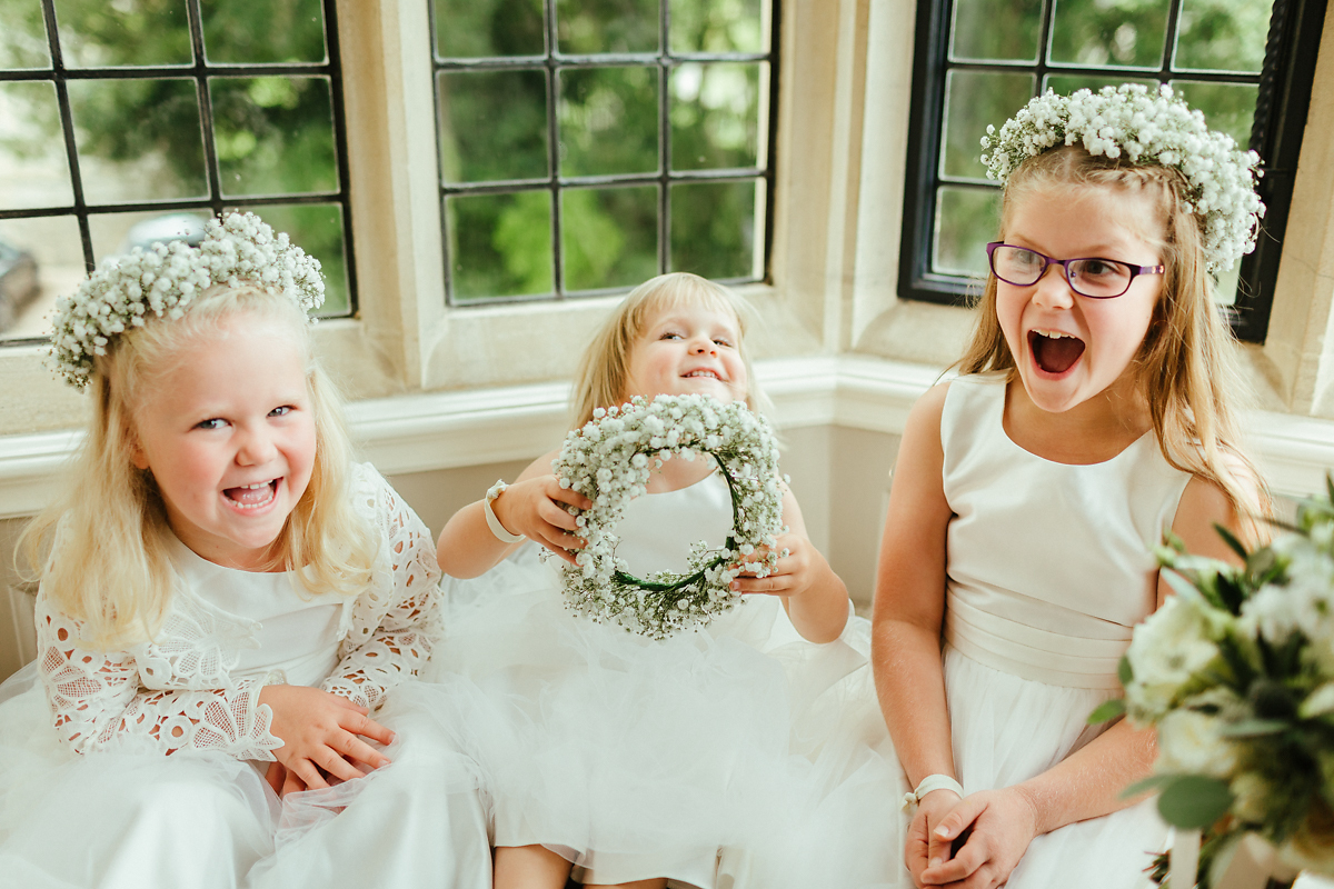 How to handle goofy flowergirls