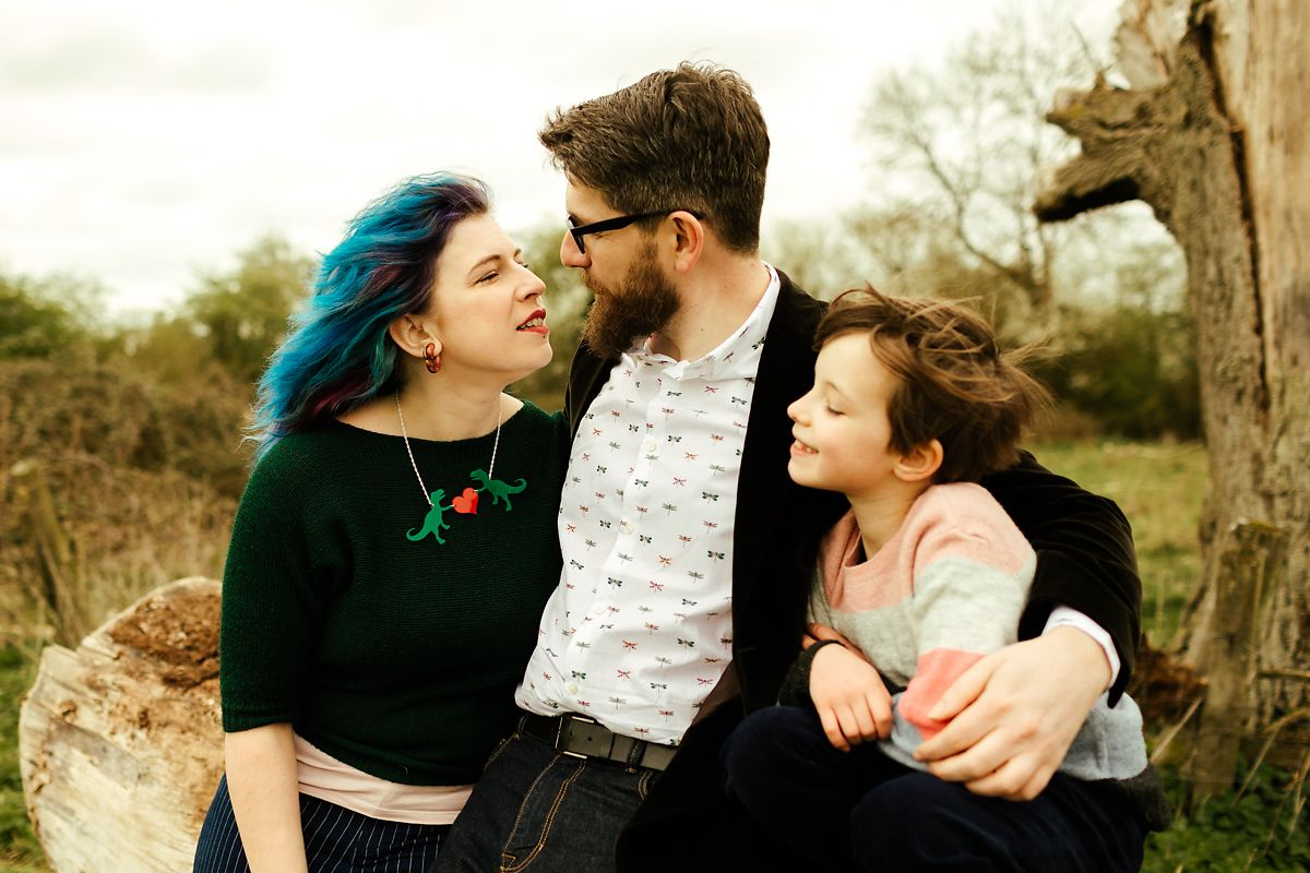 Natural family photos in Buckinghamshire