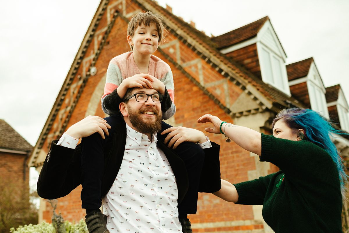Fun family photos in Buckinghamshire