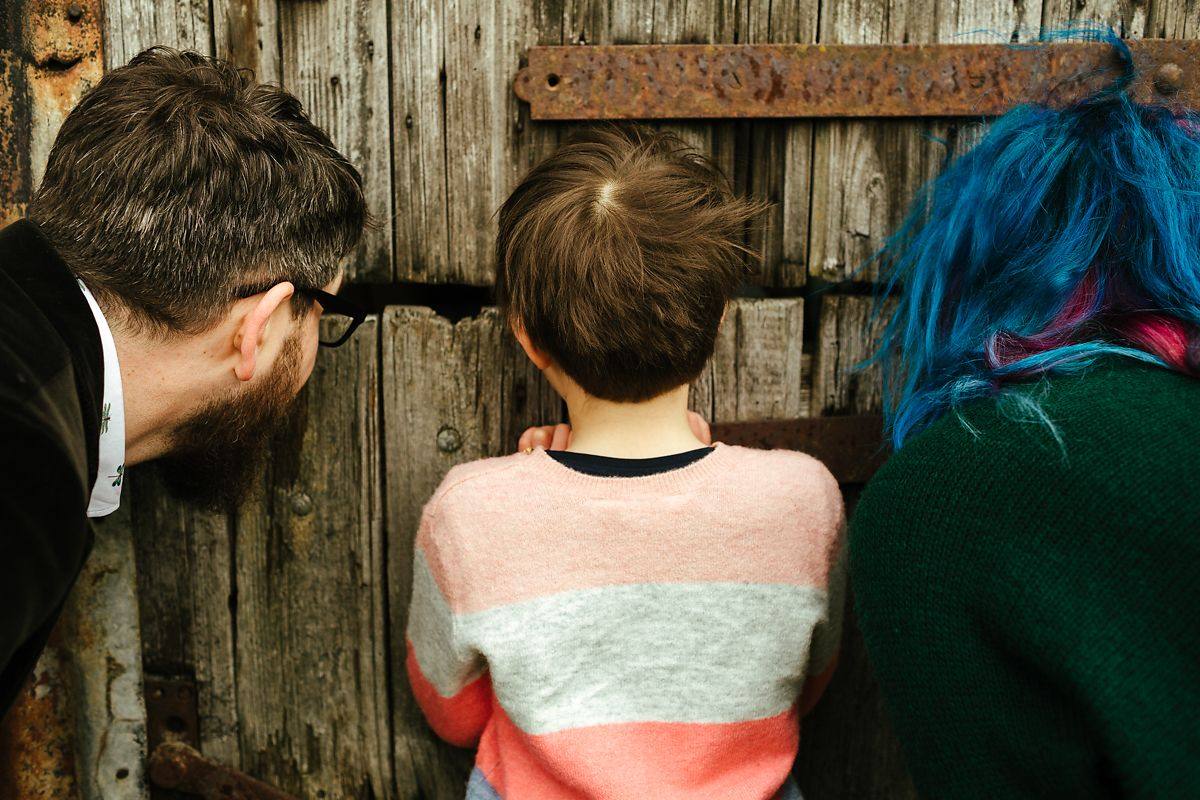 Natural family outdoor photography