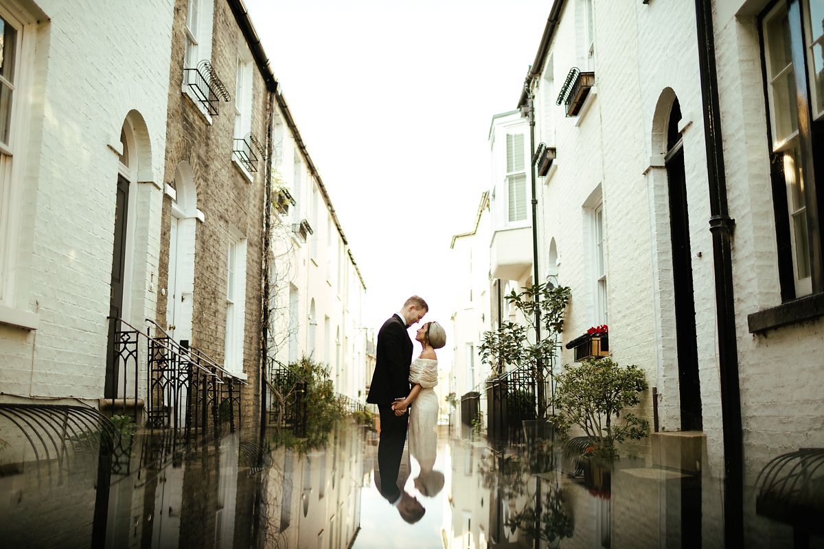 Creative pre-wedding photos in Cambridge