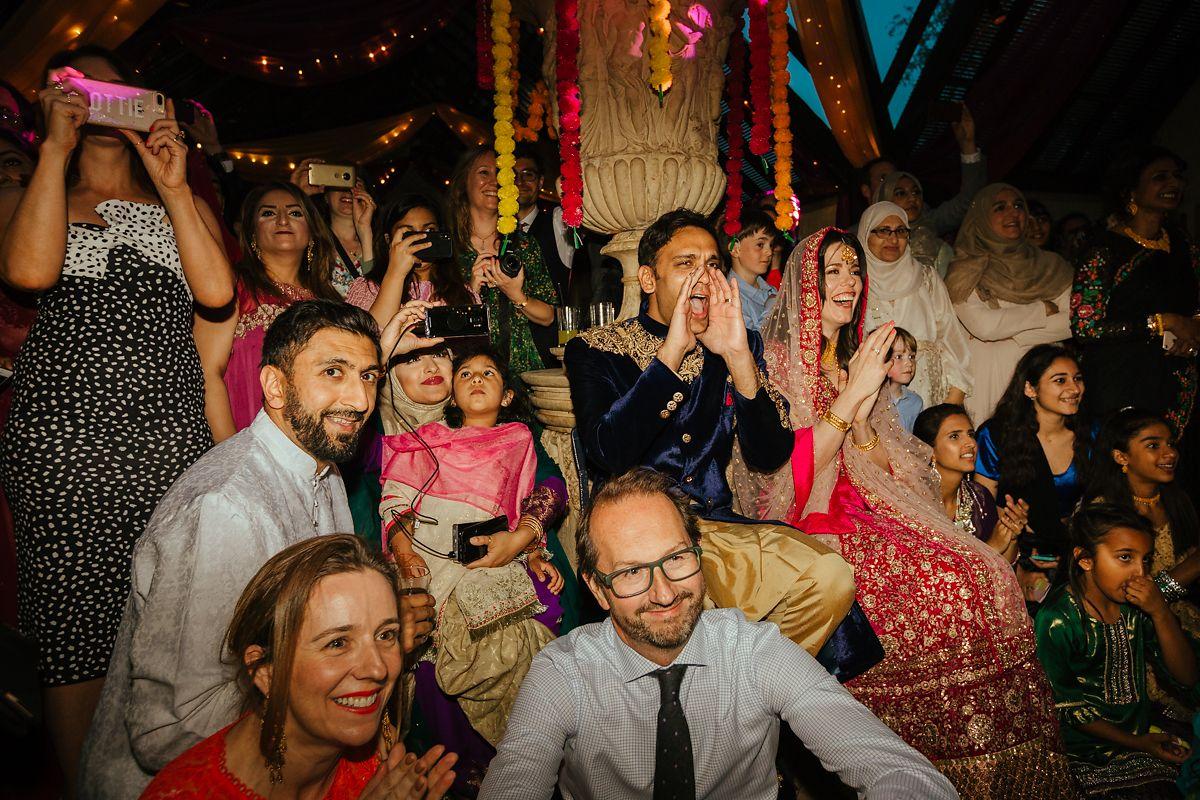 English Asian Dairy Waddesdon wedding photography