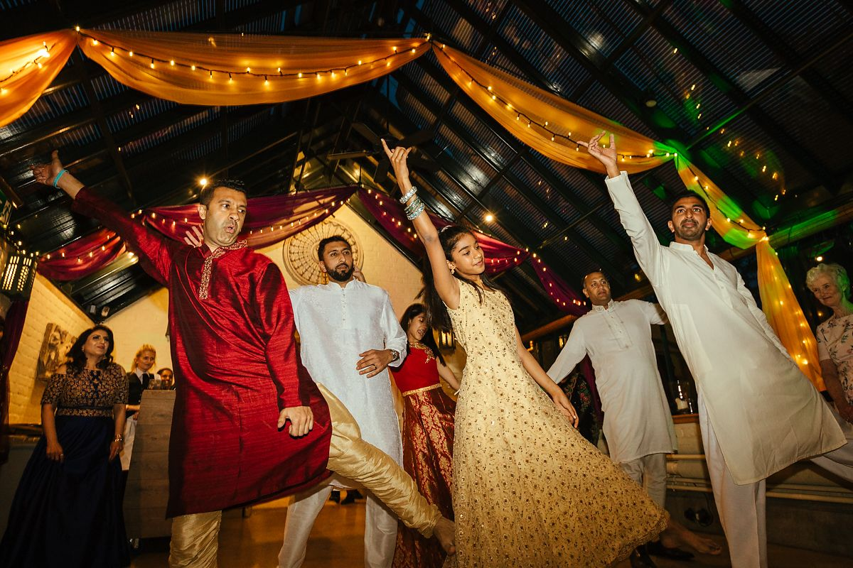Asian wedding Dances at The Dairy Waddesdon