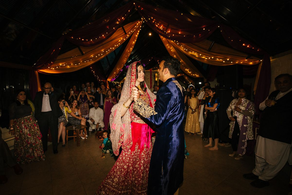 English Asian wedding photography in Waddesdon Dairy