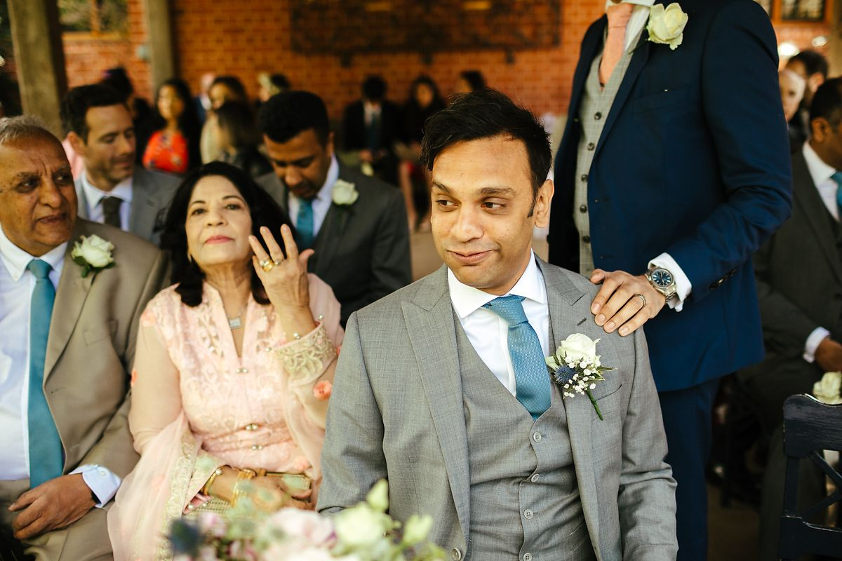 Documentary style Waddesdon Manor wedding photography