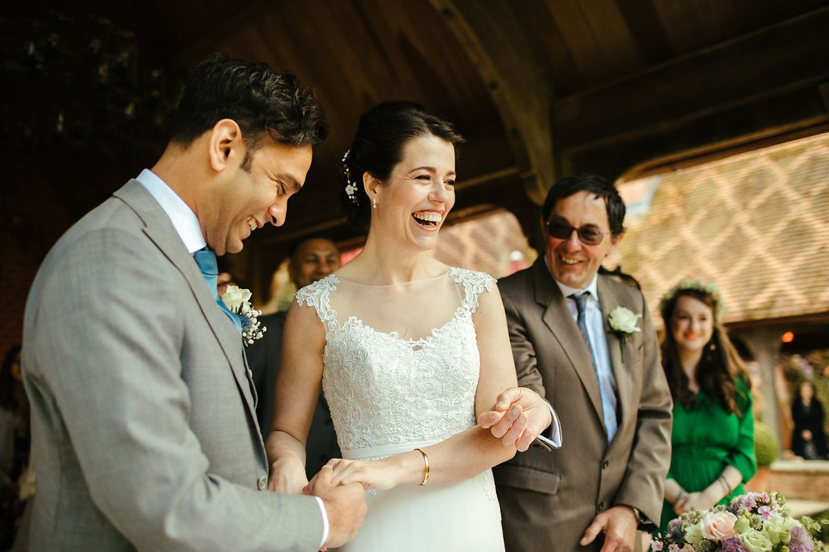 The Dairy wedding ceremony photos