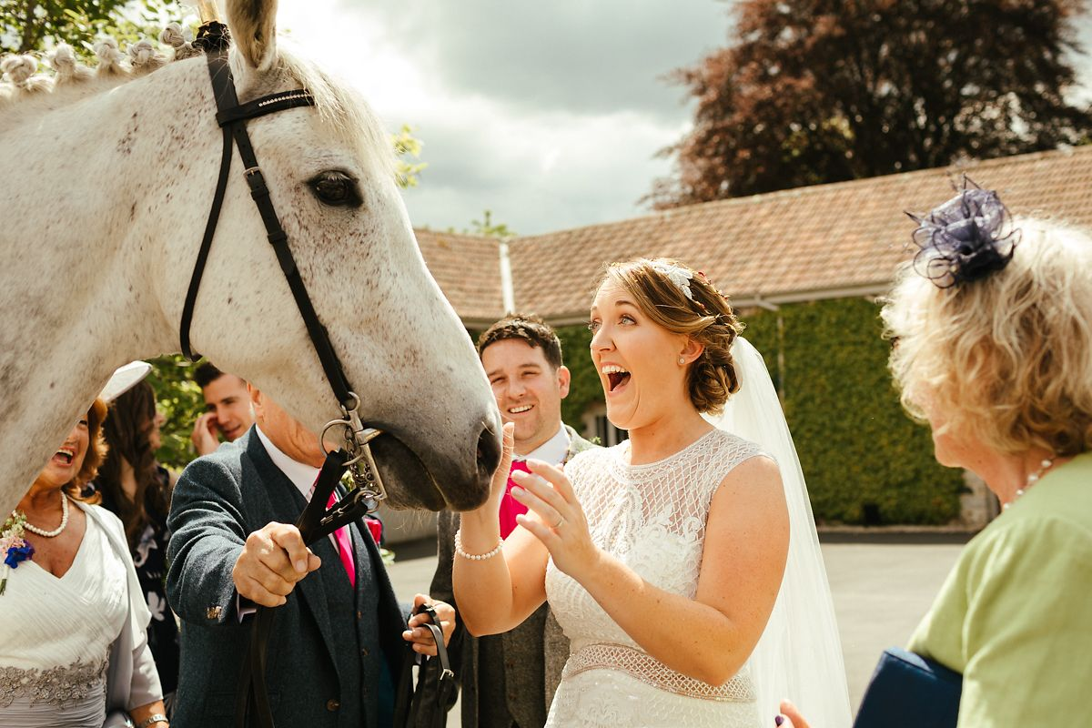 Wedding surprises in Devon