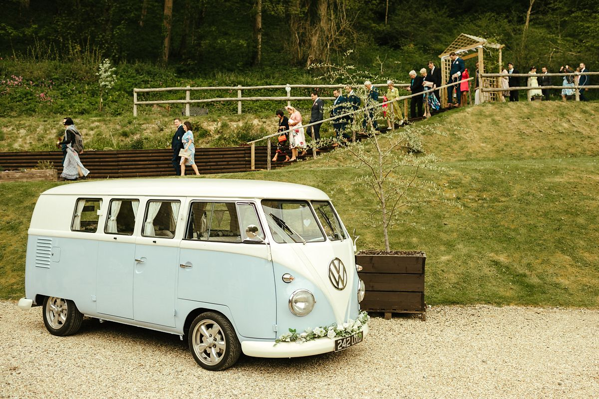 Outdoor wedding in Gorwell Farm