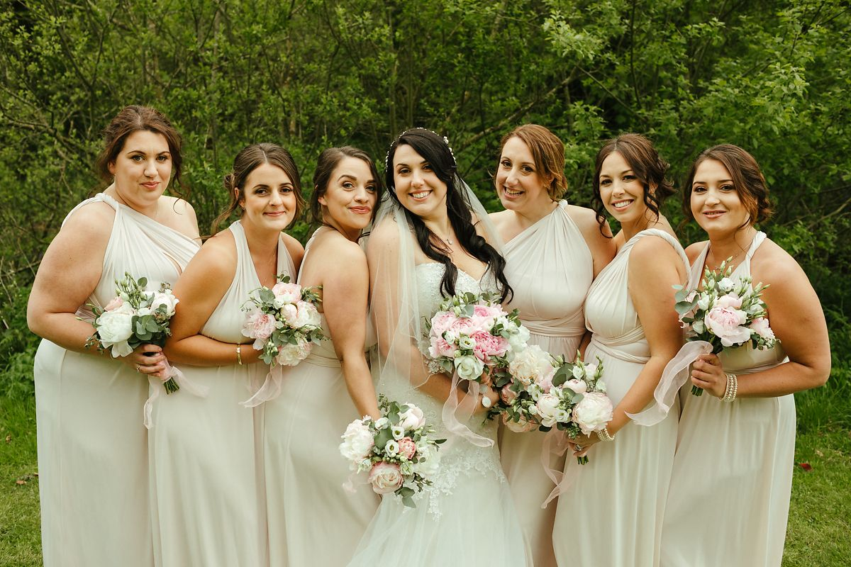Gorwell Farm wedding group photos