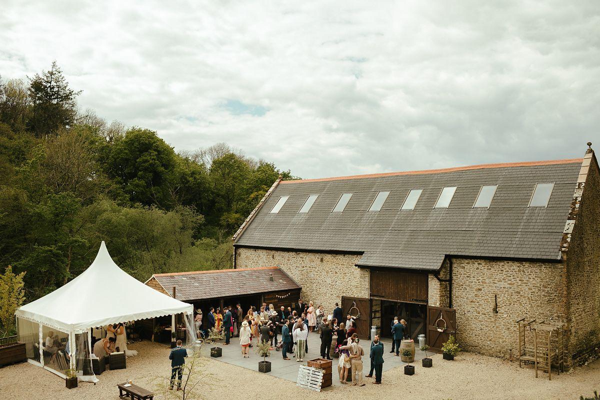 Gorwell Farm wedding venue photo