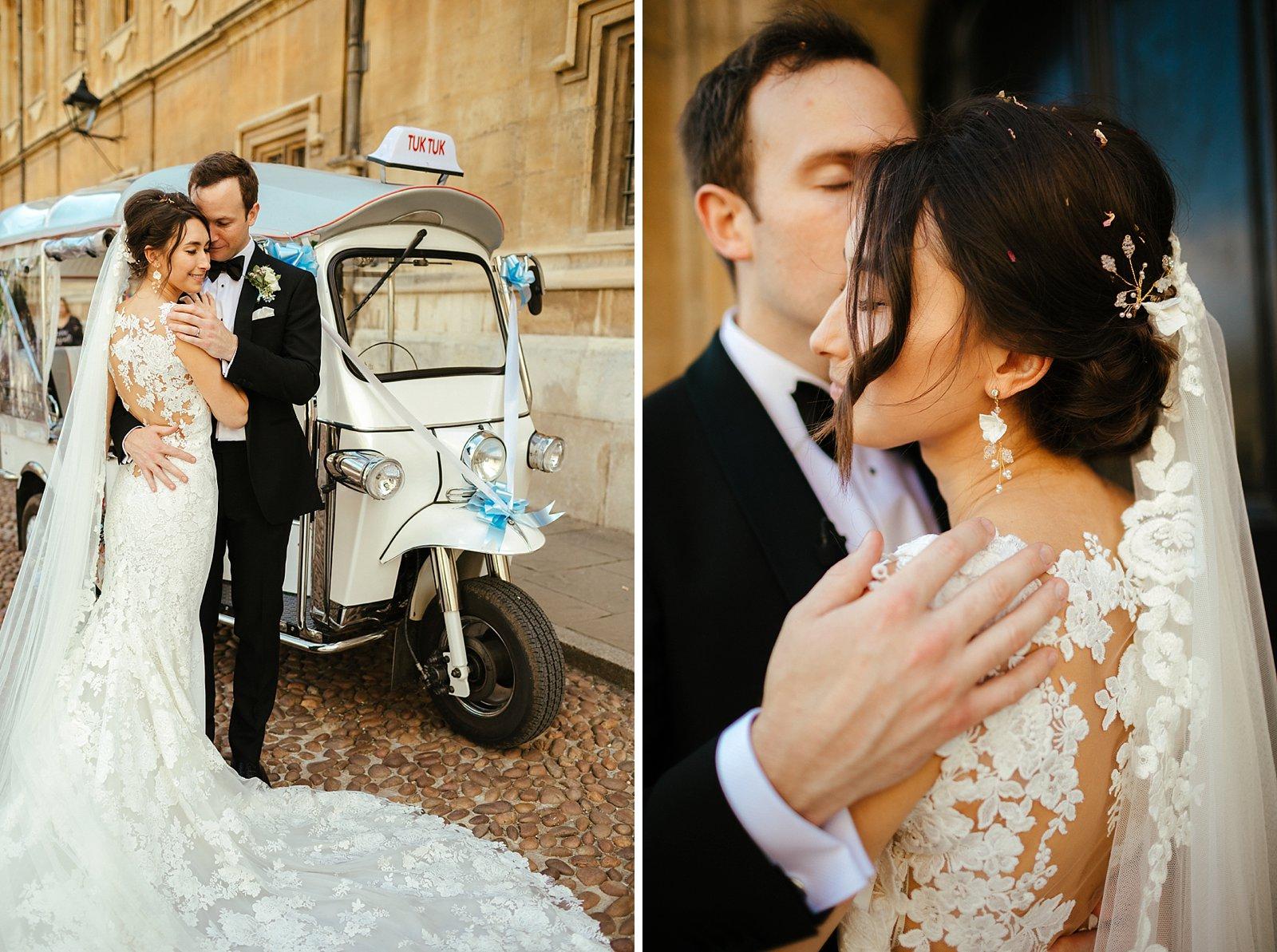 Oxford University Brasenose College wedding
