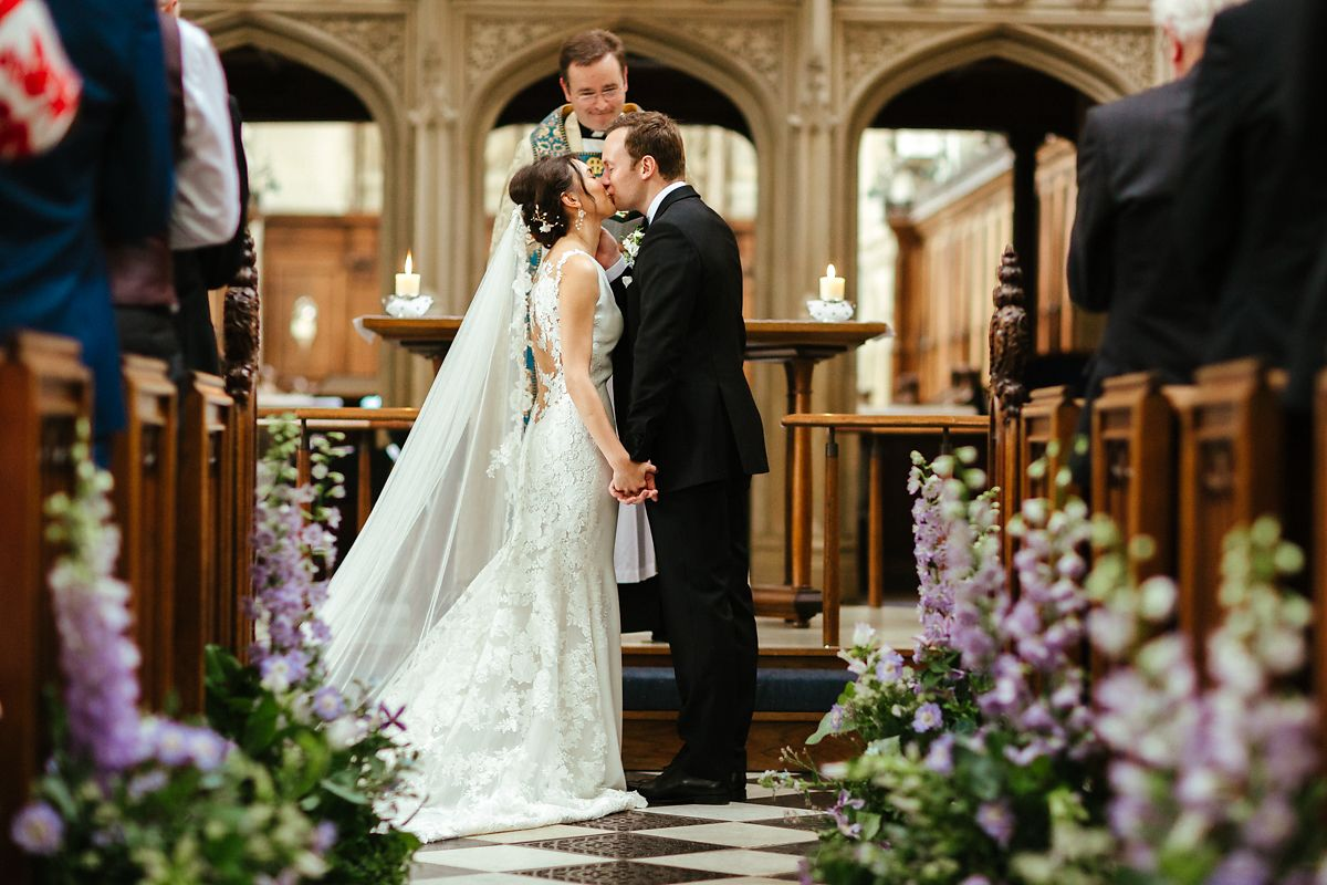 Oxford St Mary's Church wedding photographer
