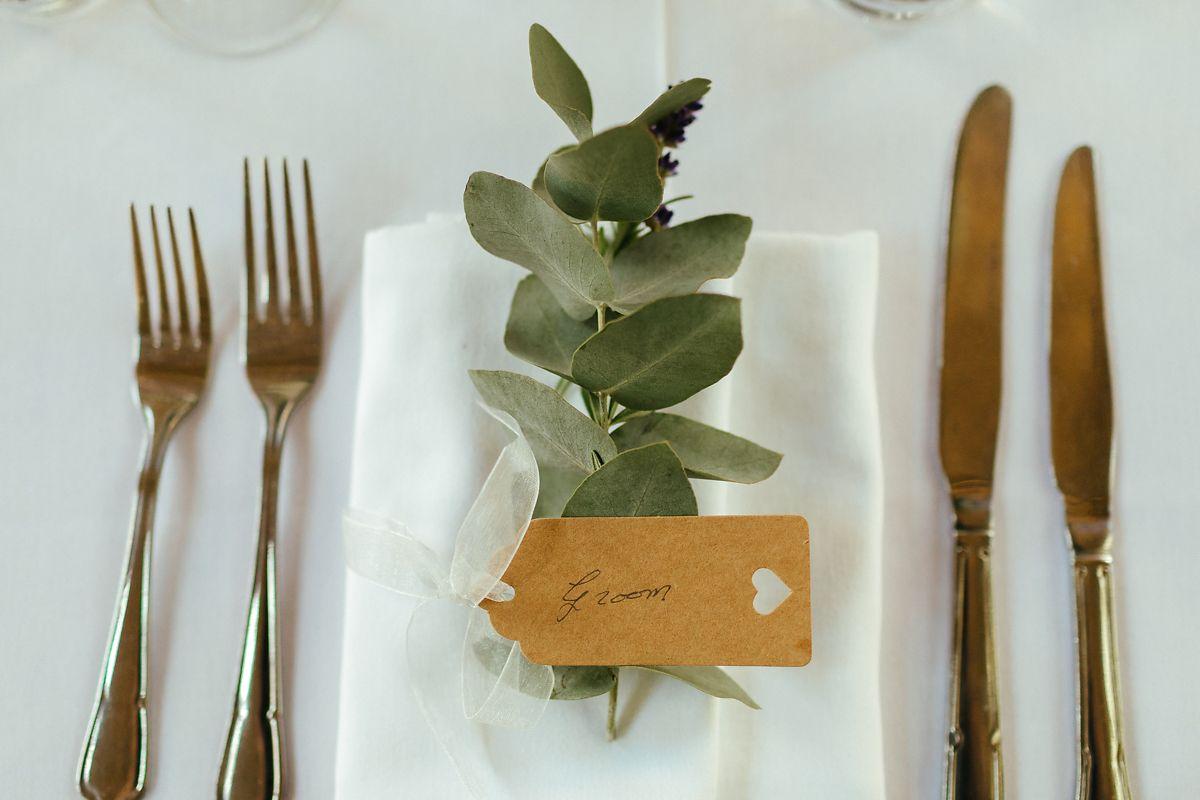 Oxford University Divinity School wedding reception table decoration