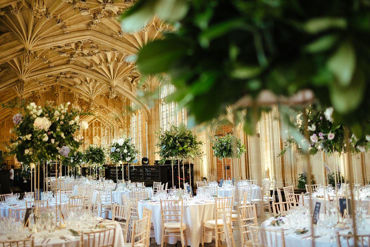Oxford University Divinity School wedding reception