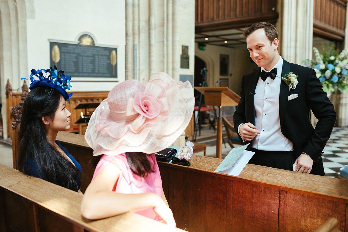 Oxford St Mary's Church wedding photos