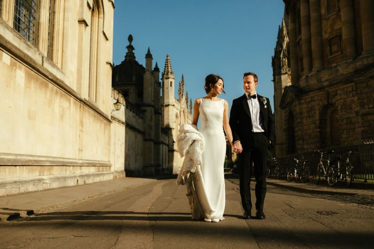 Oxford Brasenose College Wedding Photography
