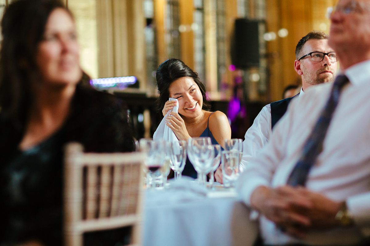 Wedding speech in Oxford Divinity School