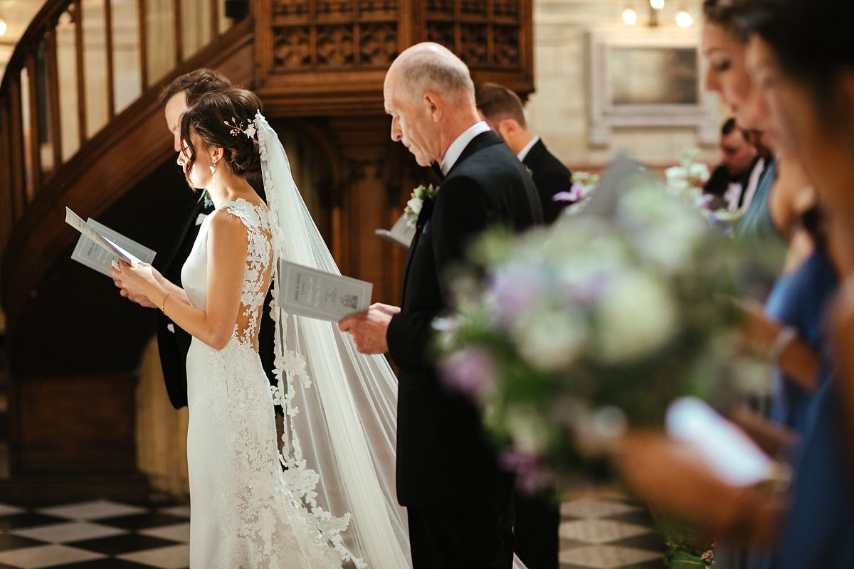 Oxford St Mary's Church wedding photography