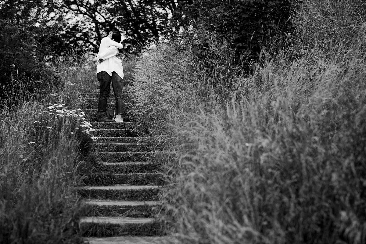 Cambridge Castle Mound couple shoot