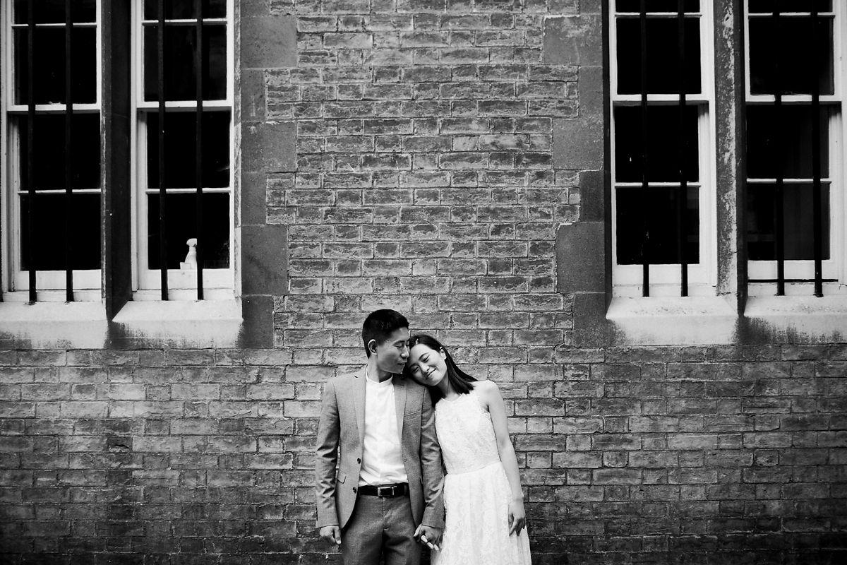 Couple's portrait shoot in Cambridge