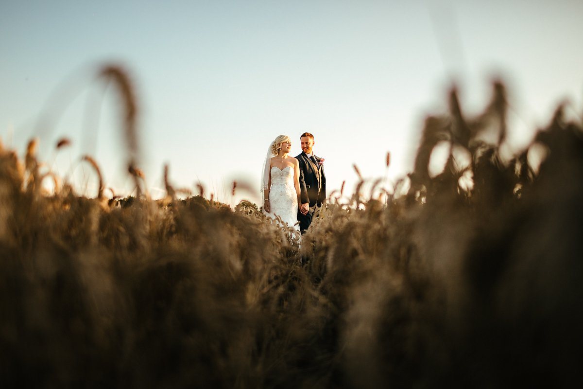 Summer wedding photography in Notley Tythe Barn
