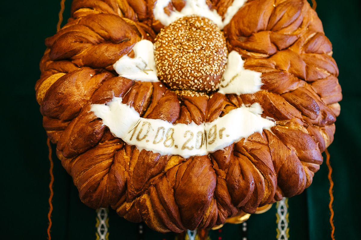 Bulgarian bread wedding tradition