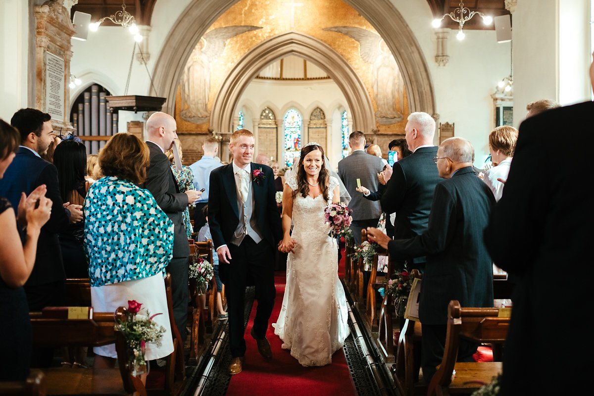 Latimer estate church wedding ceremony photos