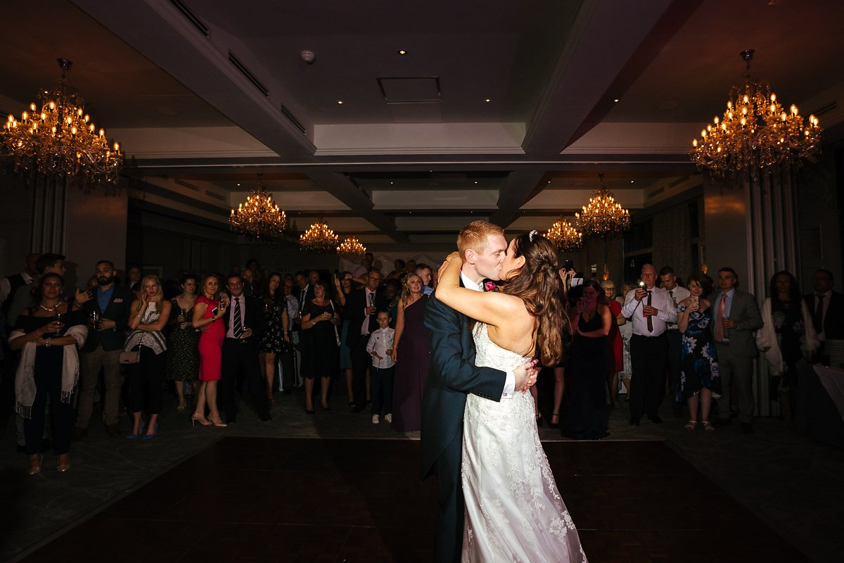 Latimer House wedding first dance
