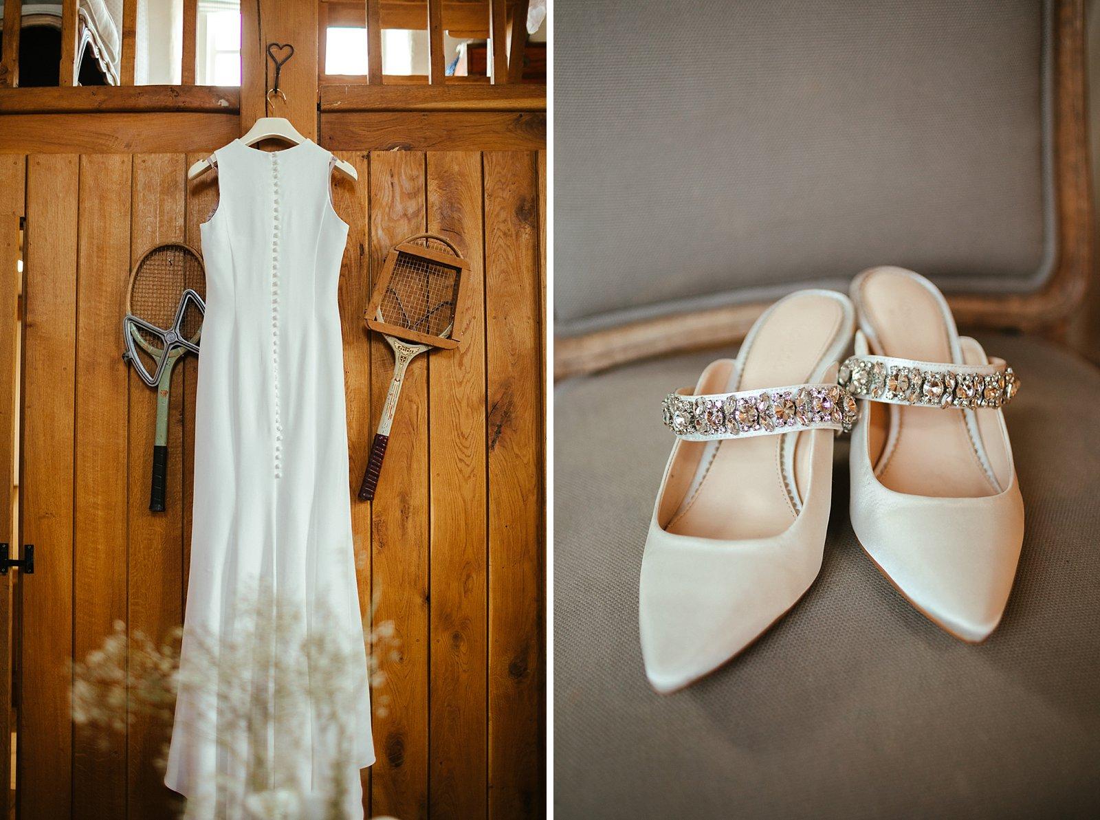 Merriscourt wedding day preparations