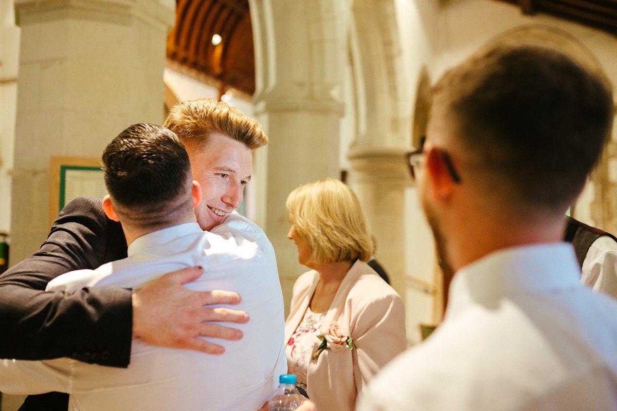 St Mary's church wedding ceremony