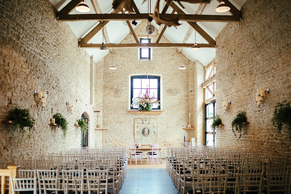 The Stone barn at Merriscourt venue