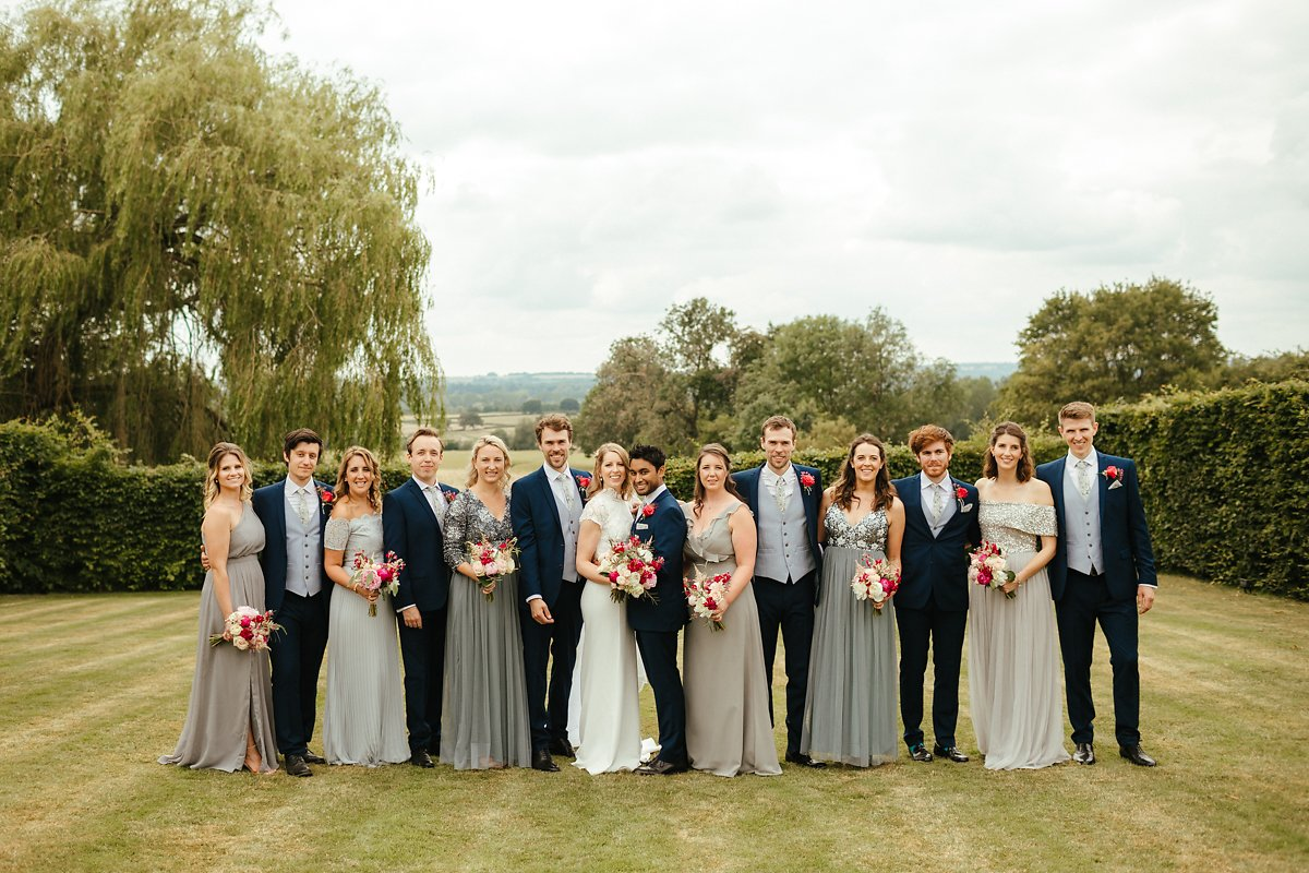 Where to do group photos at Merriscourt venue?