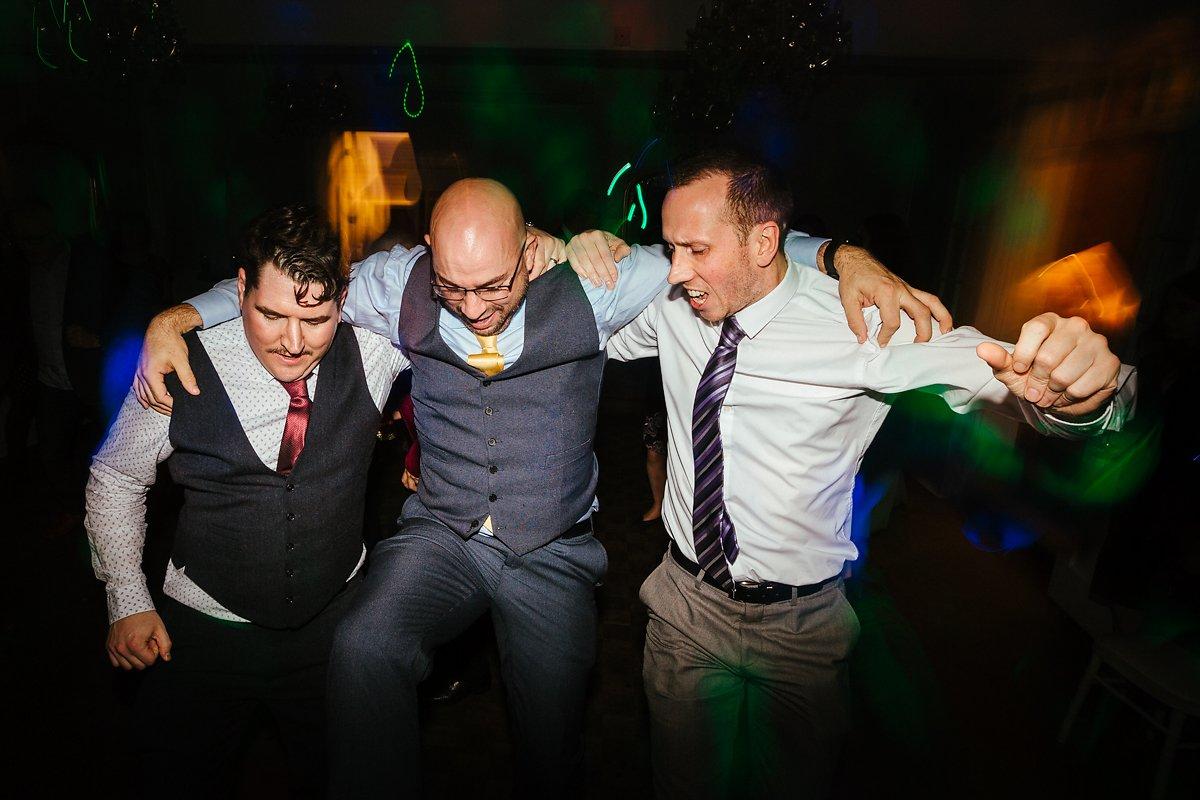 Wedding party that rocks