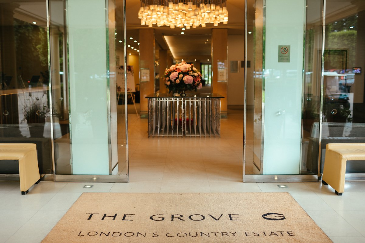 The Grove Watford Amber room