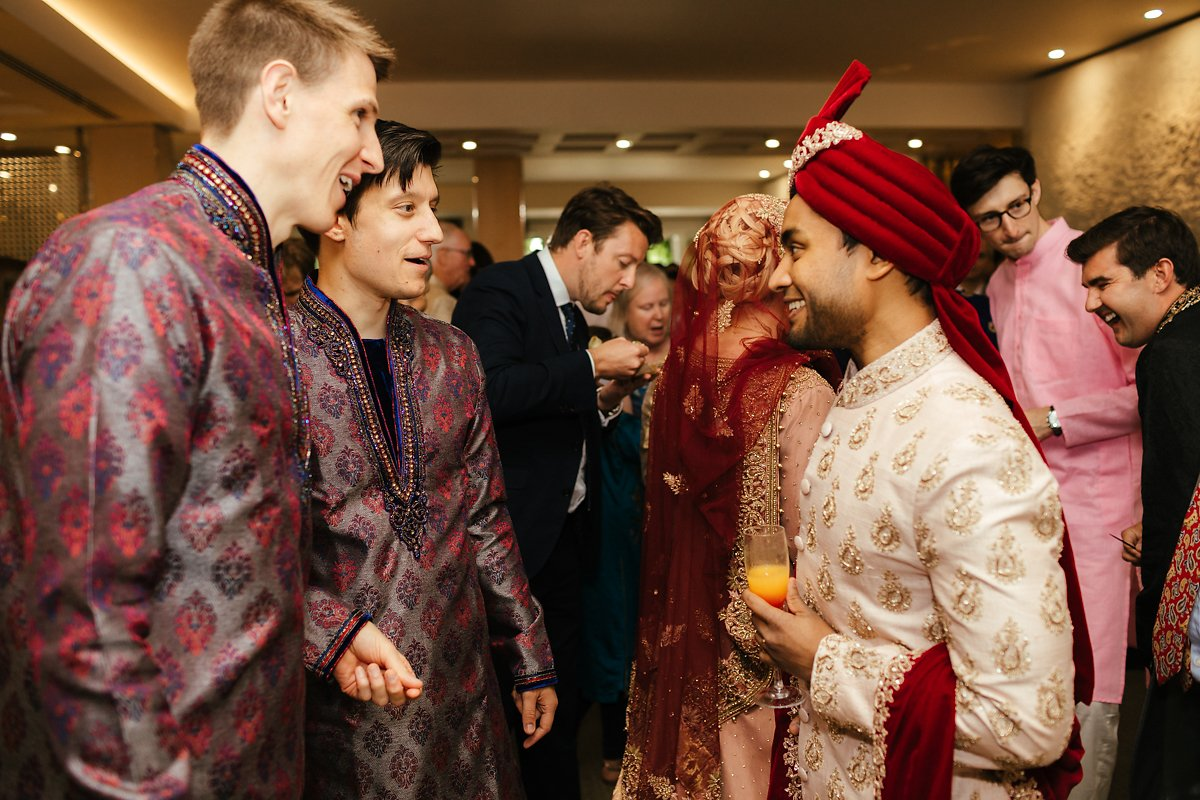 Indian wedding reception at the Grove Watford