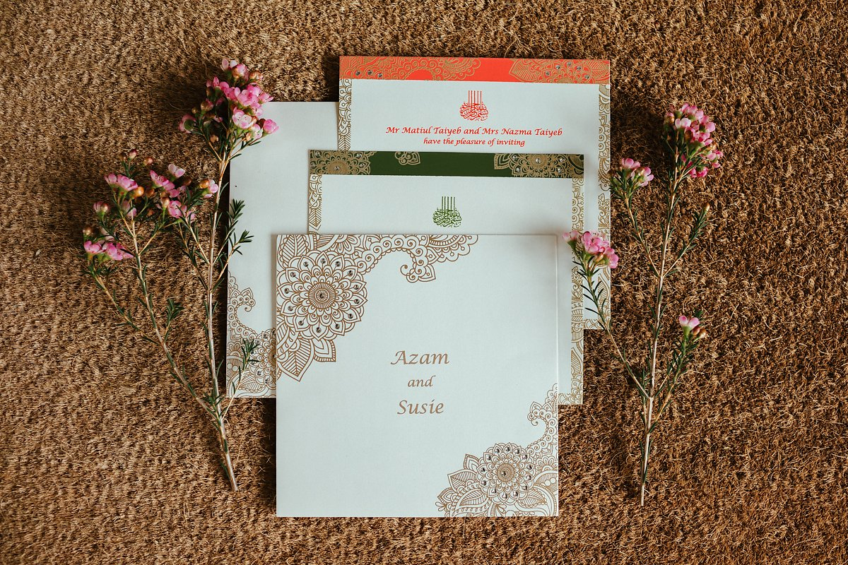 Walima invitations to The Grove Watford